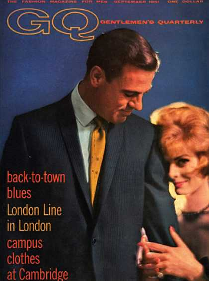 GQ - September 1961 - Back-to-town Blues