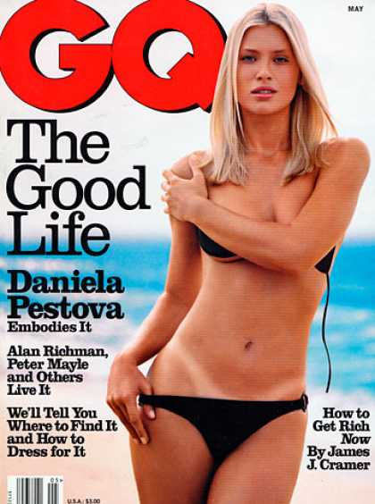 GQ - May 1998 - Daniela Pestova