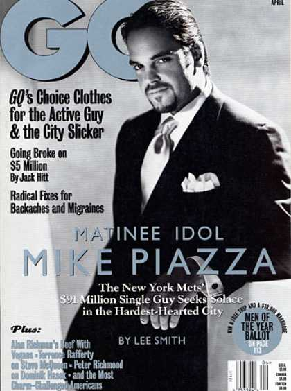 GQ - April 1999 - Mike Piazza