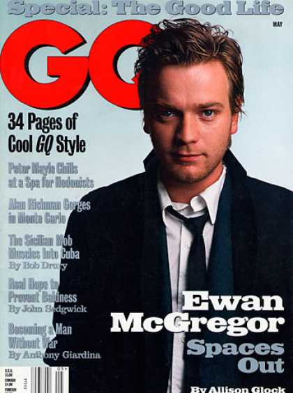 GQ - May 1999 - Ewan McGregor