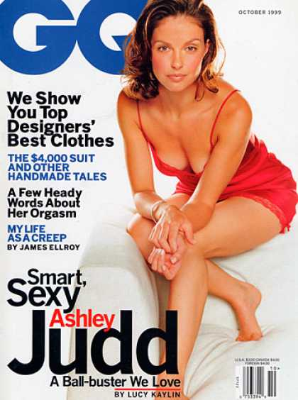 GQ - October 1999 - Ashley Judd