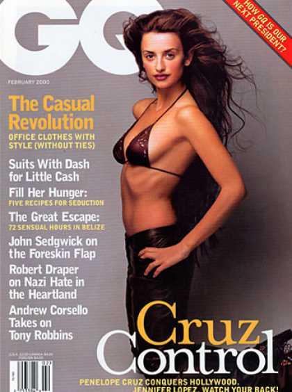 GQ - February 2000 - Penelope Cruz