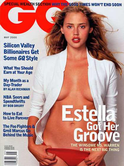 GQ - May 2000 - Estella