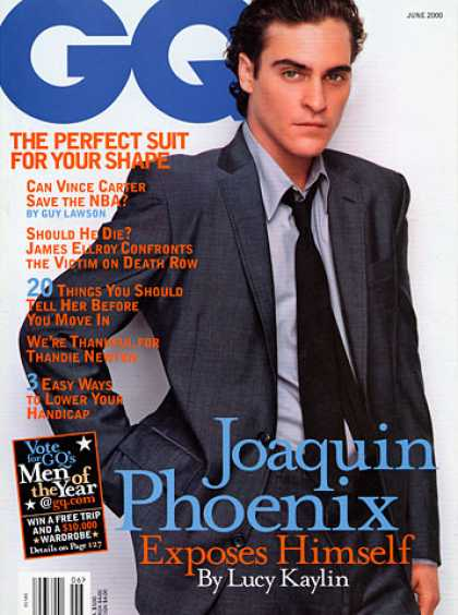 GQ - June 2000 - Joaquin Phoenix