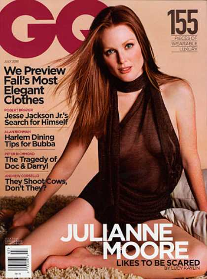 GQ - July 2001 - Julianne Moore