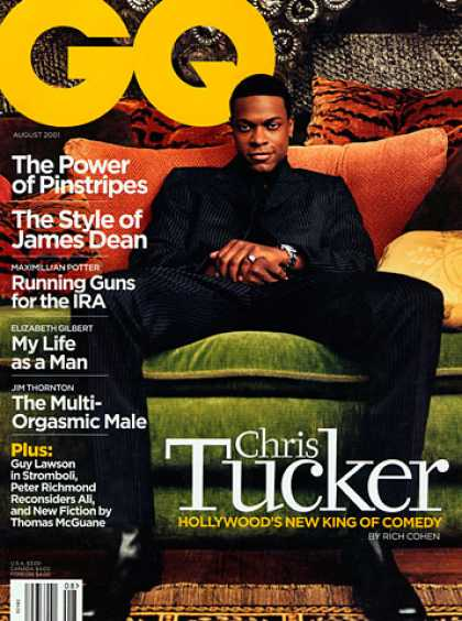 GQ - August 2001 - Chris Tucker
