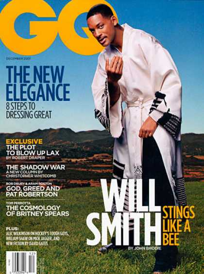 GQ - December 2001 - Will Smith