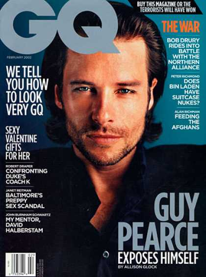 GQ - February 2002 - Guy Pearce