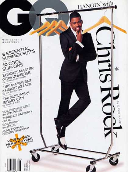 GQ - June 2002 - Chris Rock
