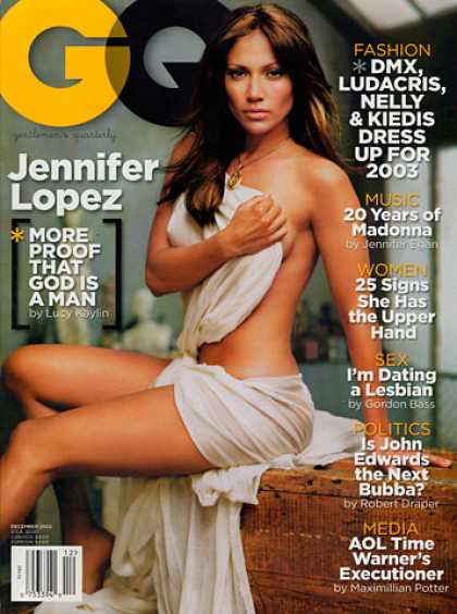 GQ - December 2002 - Jennifer Lopez