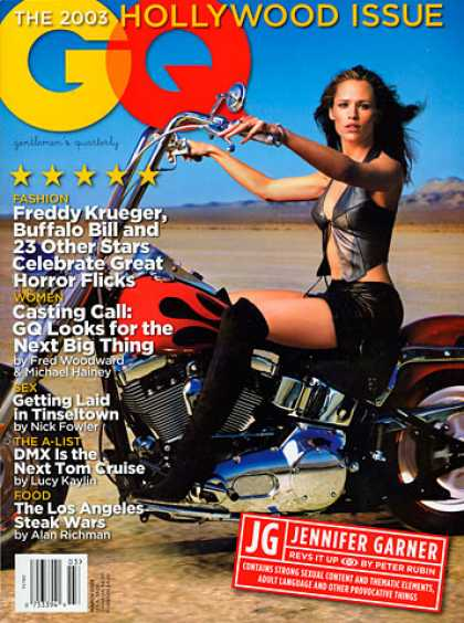 GQ - March 2003 - Jennifer Garner