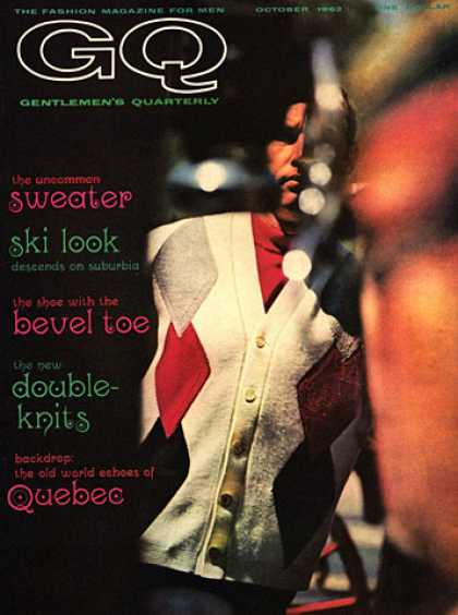 GQ - October 1962 - Sweater