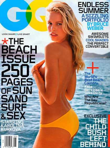 GQ - May 2004 - Karolina Kurkova