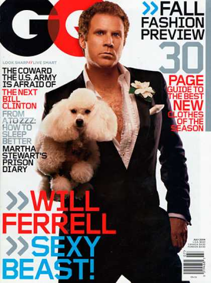 GQ - July 2004 - Will Ferrell