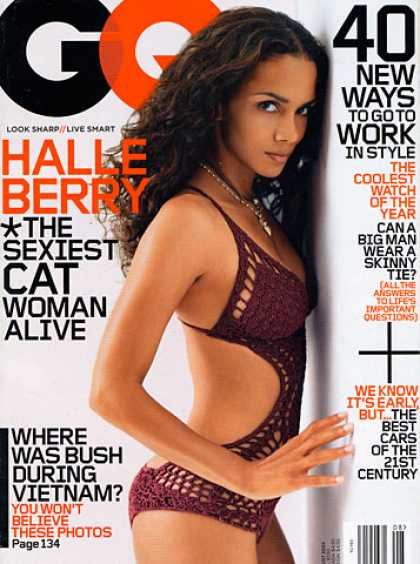 GQ - August 2004 - Halle Berry