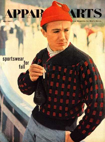 GQ - May 1957 - Sportswear for Fall