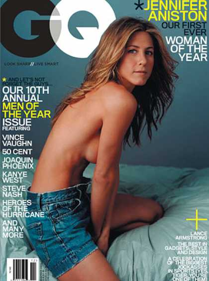 GQ - December 2005 - Jennifer Aniston