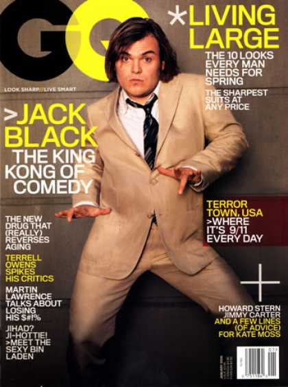 GQ - January 2006 - Jack Black