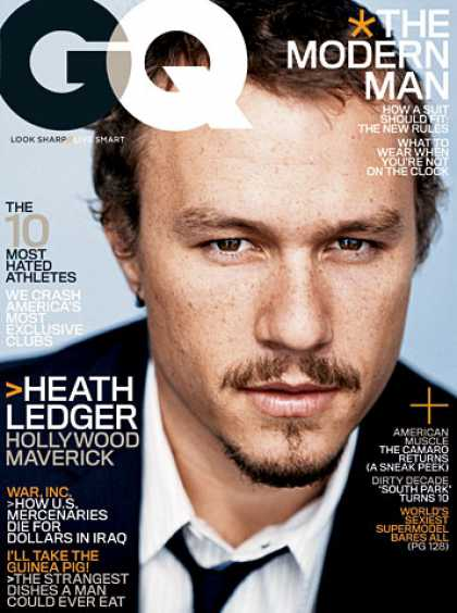GQ - February 2006 - Heath Ledger