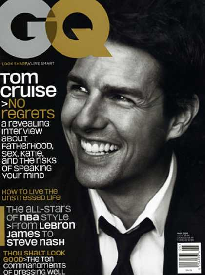 GQ - May 2006 - Tom Cruise