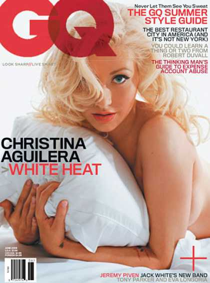 GQ - June 2006 - Christina Aguilera