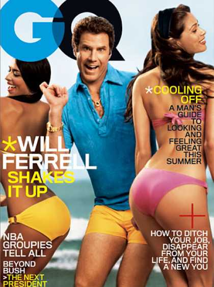 GQ - July 2006 - Will Ferrell