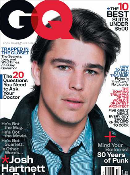 GQ - October 2006 - Josh Hartnett