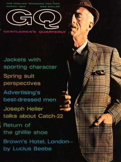 GQ - March 1963 - Jackets
