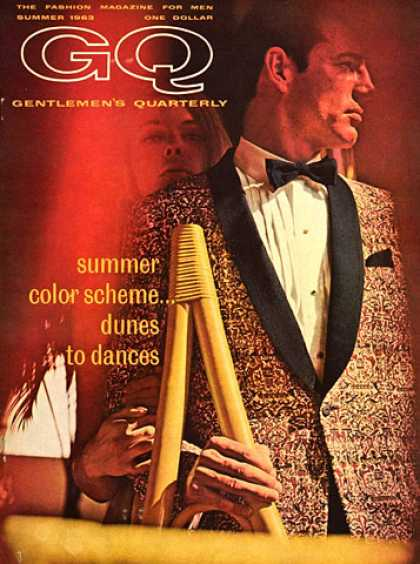 GQ - Summer 1963 - Summer Color Scheme