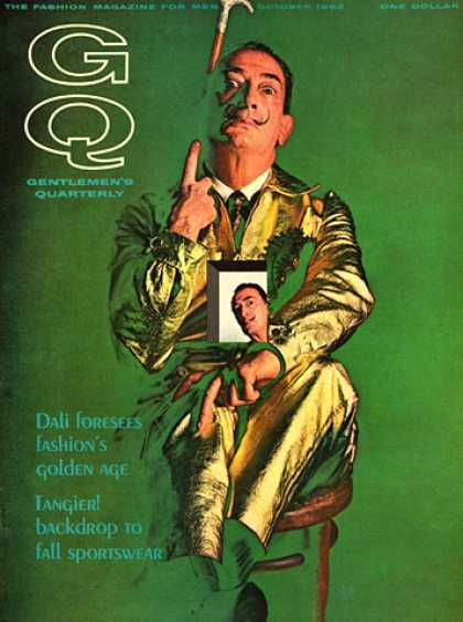 GQ - October 1963 - Salvador Dali