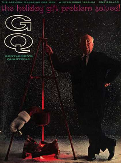 GQ - Winter 1963-64 - Alfred Hitchcock