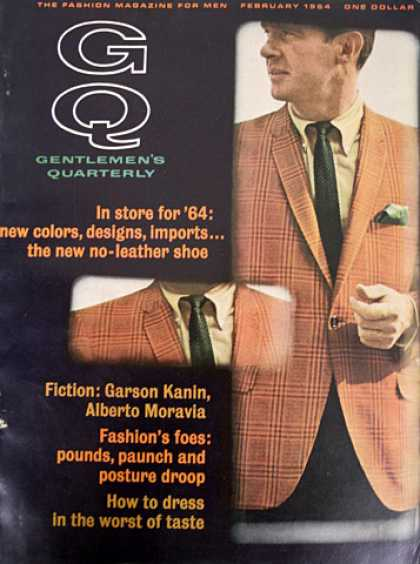 GQ - February 1964 - In store for '64
