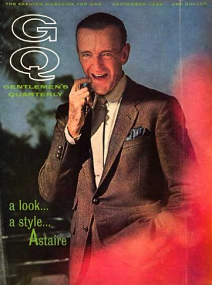 GQ - September 1964 - Fred Astaire