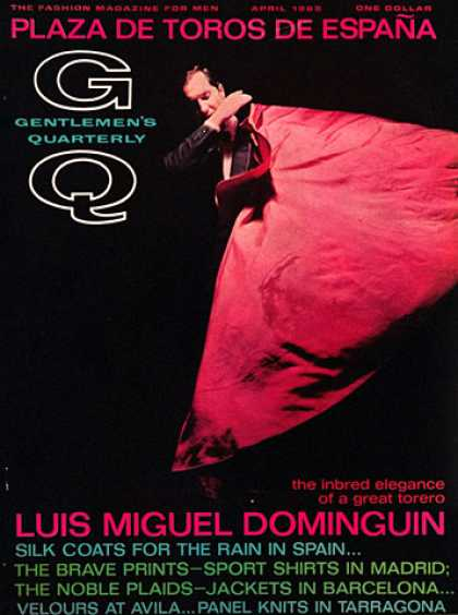 GQ - April 1965 - Luis Miguel Dominguin