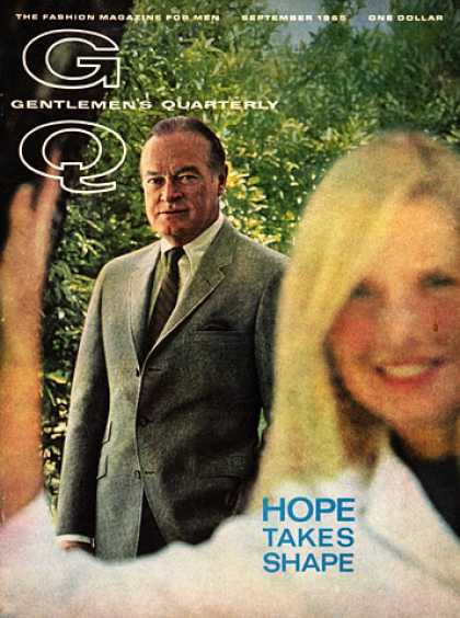 GQ - September 1965 - Hope Takes Shape