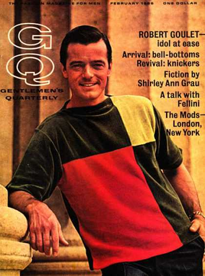 GQ - February 1966 - Robert Goulet