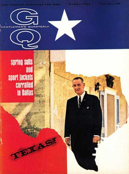 GQ - March 1966 - Texas