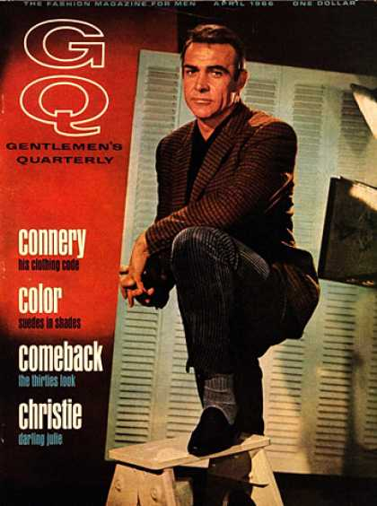 GQ - April 1966 - Sean Connery