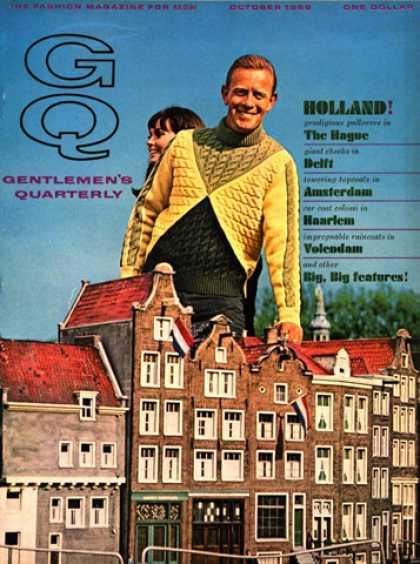 GQ - October 1966 - Holland
