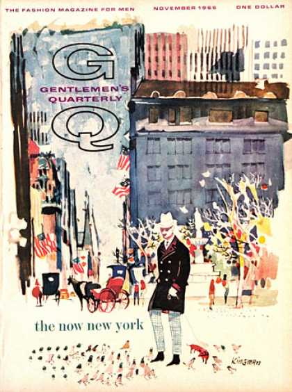 GQ - November 1966 - New York