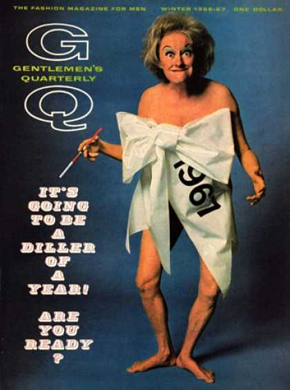 GQ - Winter 1966-67 - It's Going to Be a Diller of a Year!