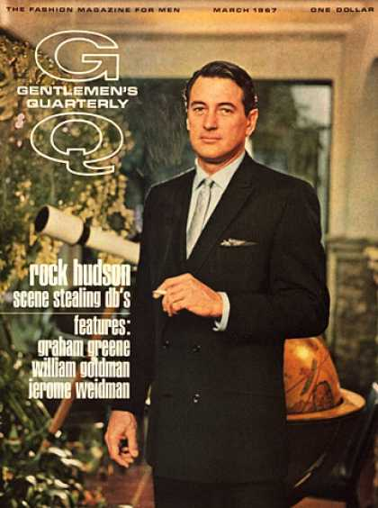 GQ - March 1967 - Rock Hudson