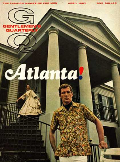 GQ - April 1967 - Atlanta