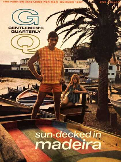 GQ - Summer 1967 - Sun-Decked in Madeira