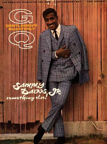 GQ - September 1967 - Sammy Davis Jr.