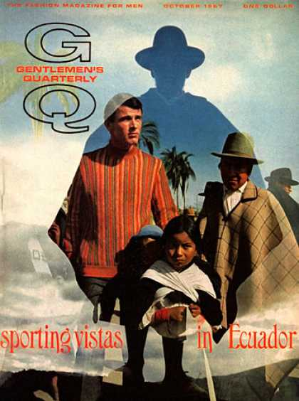 GQ - October 1967 - Ecuador