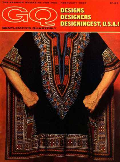 GQ - February 1968 - Designs USA