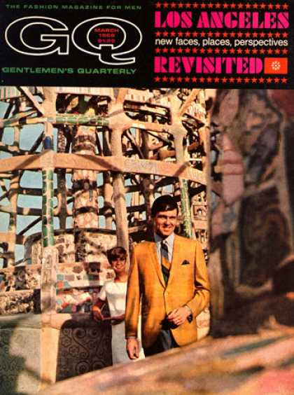 GQ - March 1968 - Los Angeles
