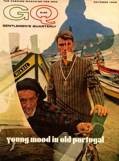 GQ - October 1968 - Young mood in old Portugal