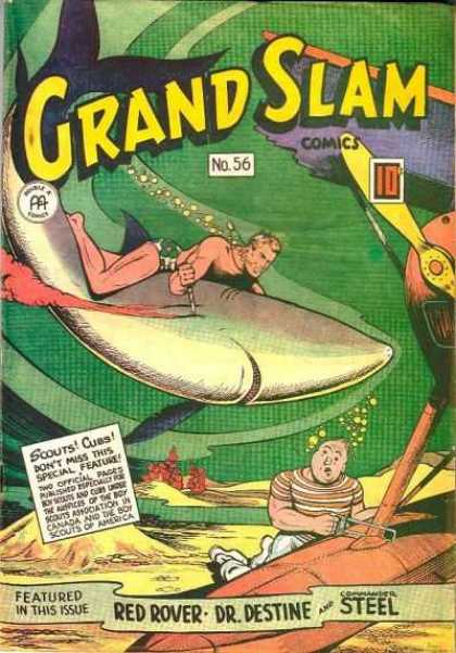 Grand Slam Comics 56 - Grand Slam - Comics - No 56 - Scouts Cubs - Featured In This Issue